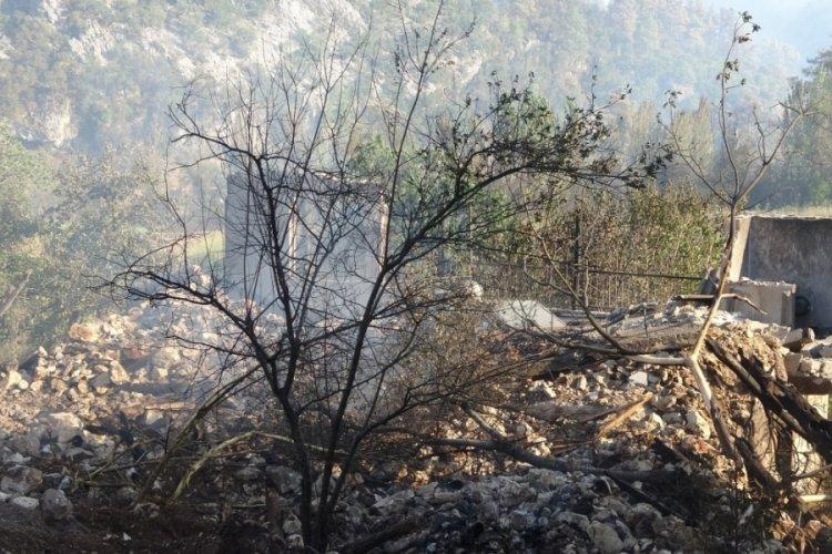 Isparta'daki yangına TSK müdahale edecek