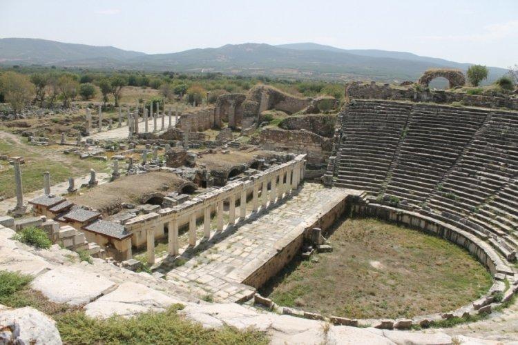Dünyaca ünlü antik kentte yangına karşı tedbir