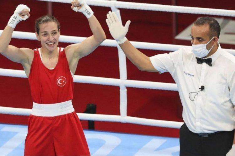 Milli boksörümüz Buse Naz Çakıroğlu finale çıktı!