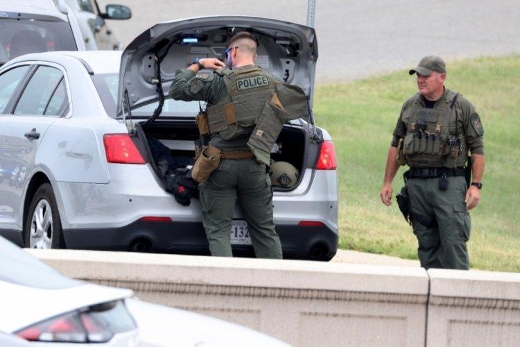 Pentogon'da silahlı saldırı! 1 polis memuru hayatını kaybetti