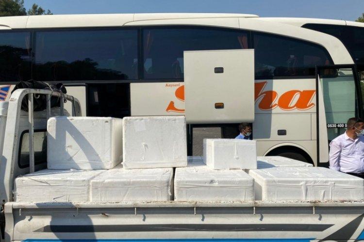 Bursa'da DOSABSİAD'dan afet bölgesine ihtiyaç malzemesi desteği