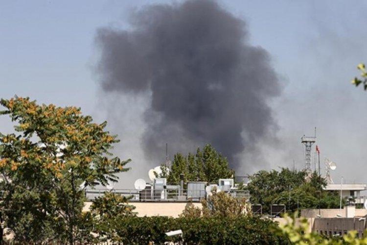 Ankara'da feci yangın!