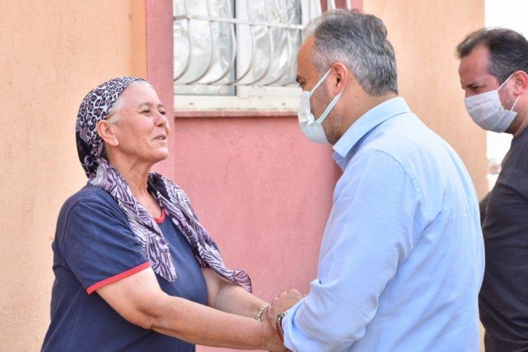 Bursa Büyükşehir Belediye Başkanı Aktaş: Yaraları hep birlikte saracağız