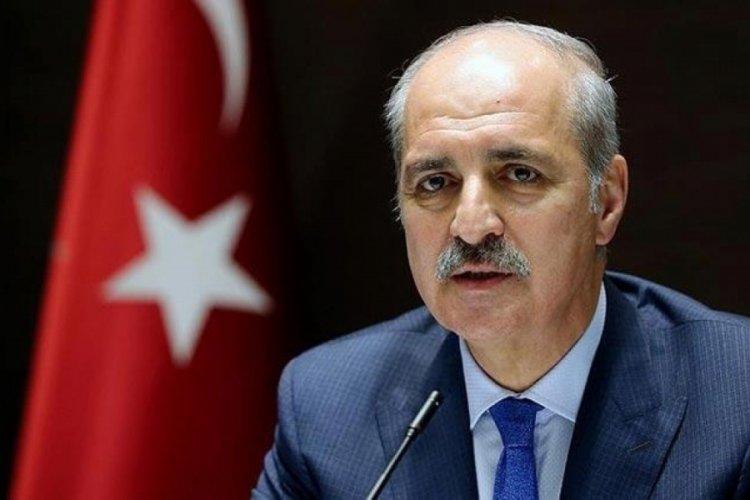 AK Parti Genel Başkan vekili Numan Kurtulmuş'tan ABD'ye tepki!