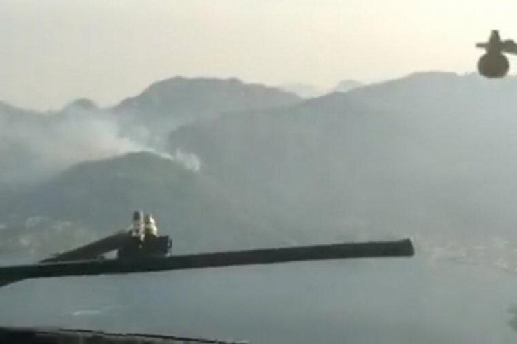 İspanyol pilotlar paylaştı! Havadan ilk görüntüler...