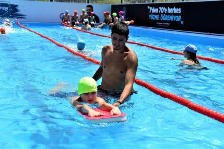 Bursa Yıldırım'da yüzme bilmeyen kalmayacak