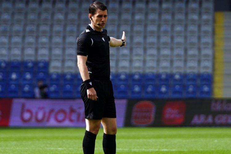 UEFA hakem Halil Umut Meler'i görevlendirdi