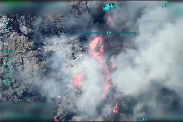 Deniz Kuvvetleri yeni yangın noktaları tespit etti