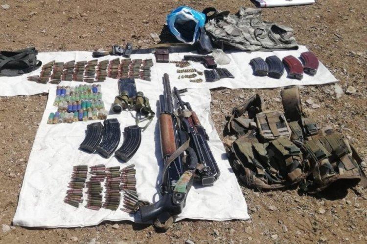 Van'da terör örgütü PKK'ya ait silah ele geçirildi