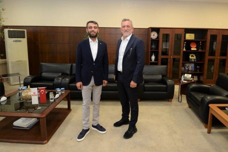 Başkan Burkay'dan Bursaspor'a 100 bin lira