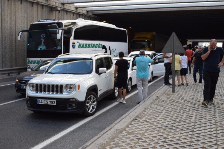 Malatya'da zincirleme kaza