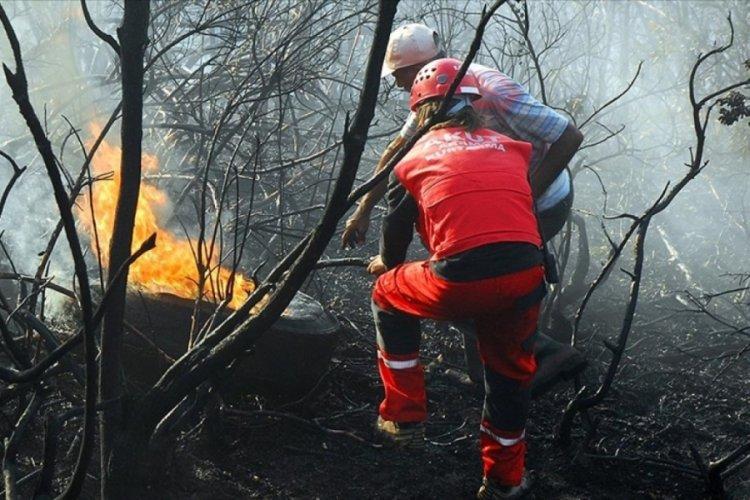 AKUT, orman yangınlarında çalışmalarını sürdürüyor