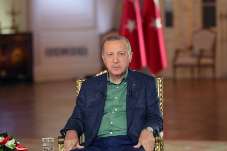 Cumhurbaşkanı Erdoğan'dan yangın açıklaması