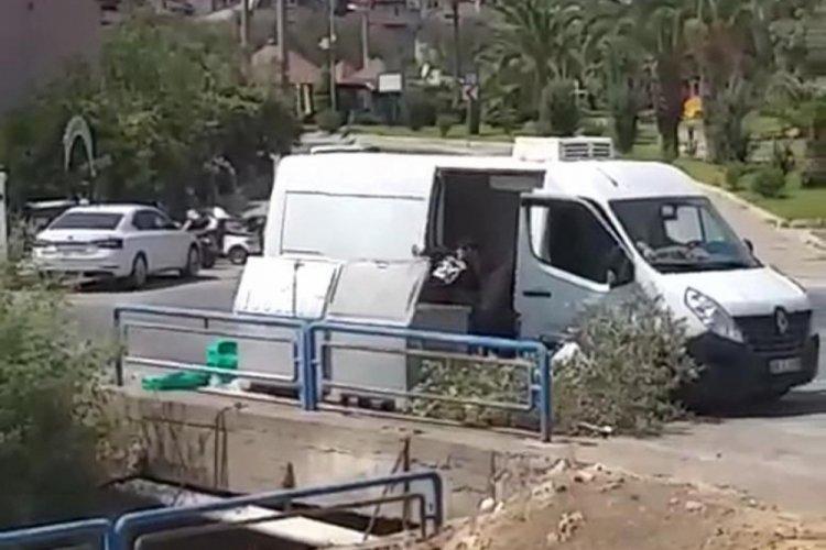 Marmaris'te yangınla mücadele eden görevlilerin suyunu çöpe atan 3 kişi gözaltında