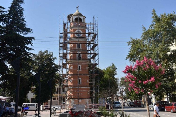 Bursa'da ''leylek'' rötarlı restorasyon başladı