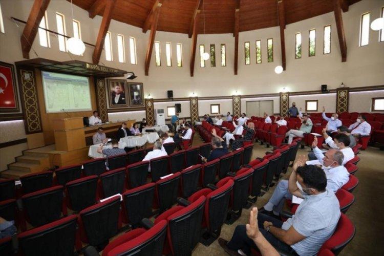 Bursa İnegöl Belediyesi meclis toplantısı yapıldı