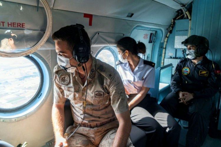 Bursa Uludağ'da helikopterli denetimler sıklaştırıldı