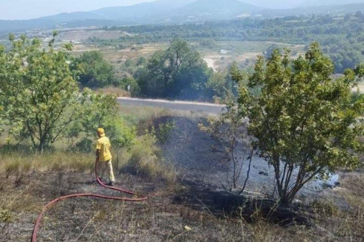 Bursa'da iki gün üst üste aynı yerde ikinci yangın