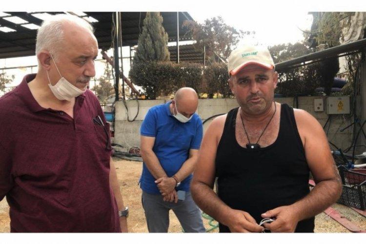 Bursa'dan yanan yörük köylerine inceleme