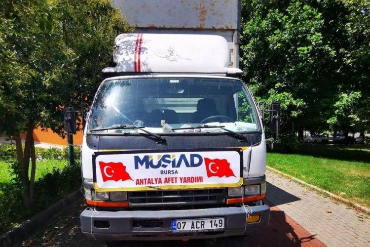 MÜSİADBursa'dan afet bölgesine destek