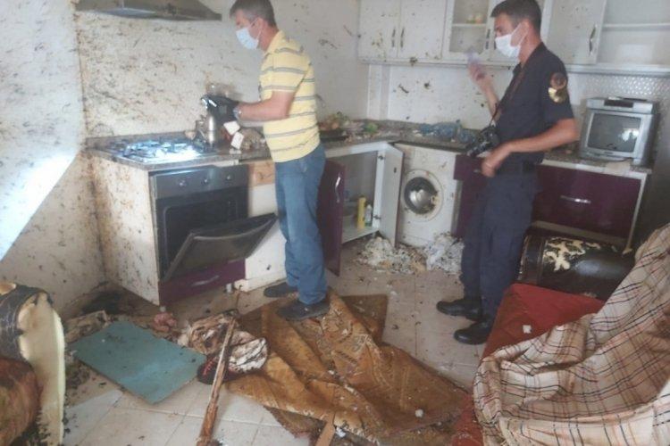 Edirne'de tüpten sızan gaz bomba etkisi yarattı