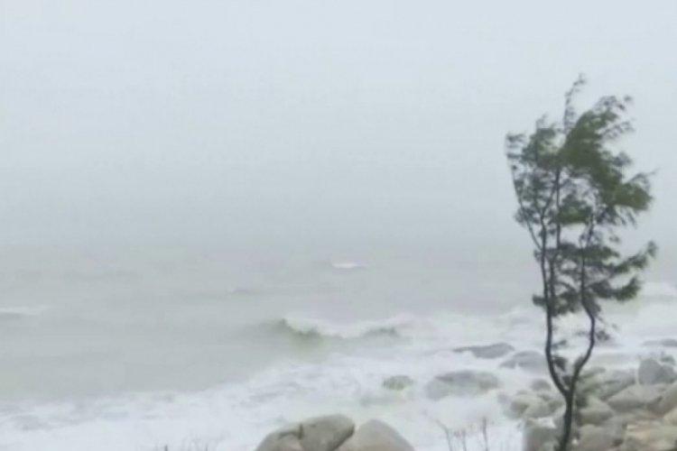 Çin'de tayfun için alarm verildi