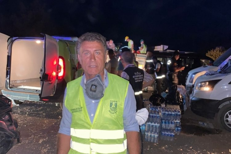 CHP Bursa Milletvekili Orhan Sarıbal yangın bölgesinde