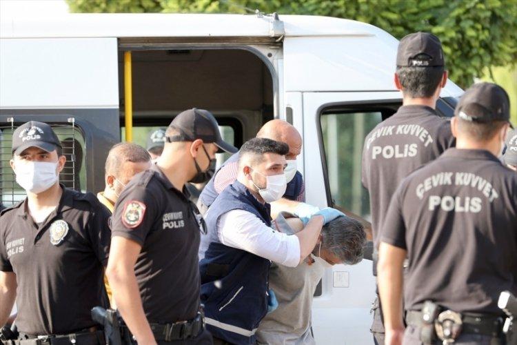 Konya'daki aile katliamının zanlısı adliyede