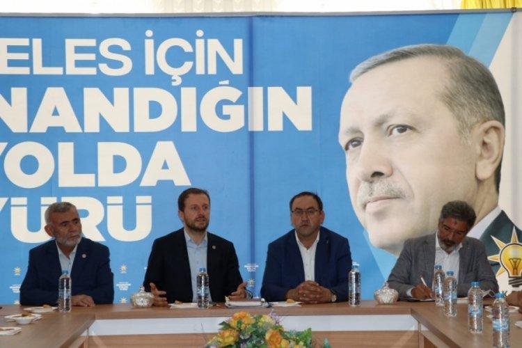 """AK Parti Bursa Milletvekili Ahmet Kılıç: """"Davasına inananlarla güçlü Türkiye için çalışıyoruz"""""""