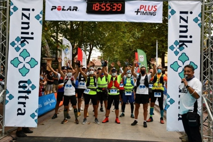 Türkiye'nin en büyük maratonu 'İznik Ultra' Bursa'da başladı