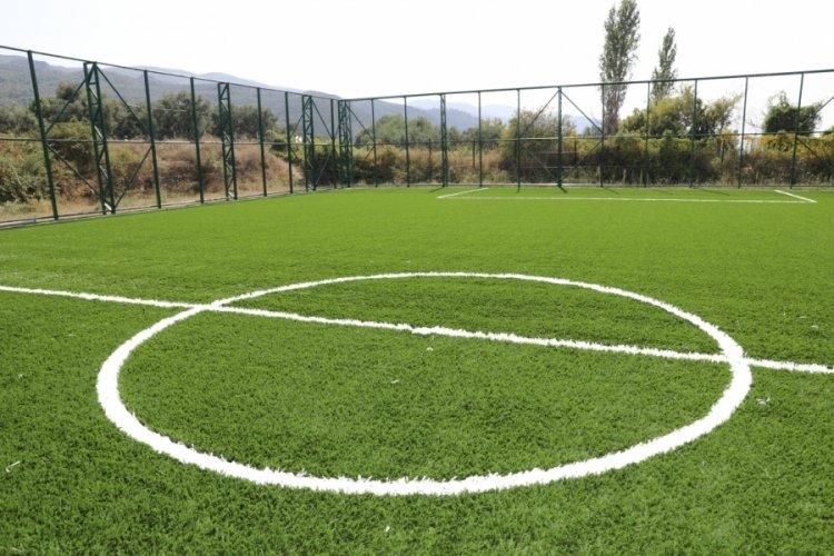 Bursa İznik'e modern spor tesisi