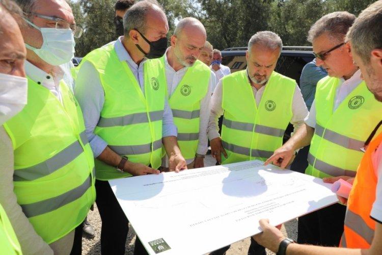 Bursa İznik'teki mezarlıklar yenileniyor
