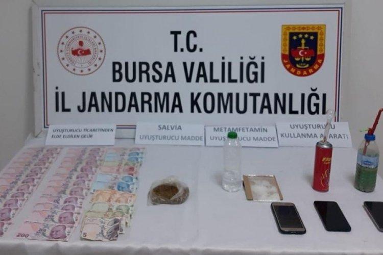 Bursa'da uyuşturucu operasyonunda 3 gözaltı