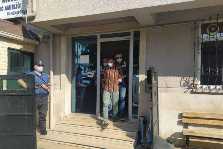 Bursa'da cami çeşmelerini çalan kişi tutuklandı