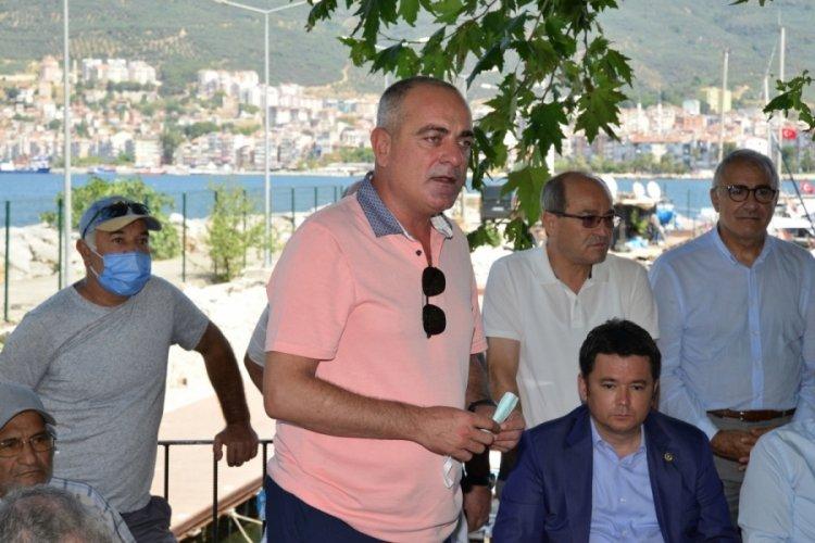 Bursa'da balıkçılarla buluşan Karadeniz: Denizcilik Bakanlığı kurulmalıdır