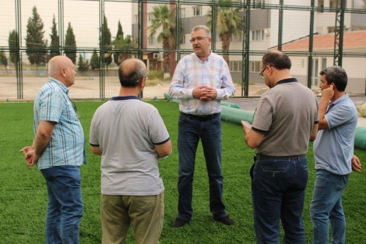 Bursa Karacabey'de spor yatırımları sürüyor