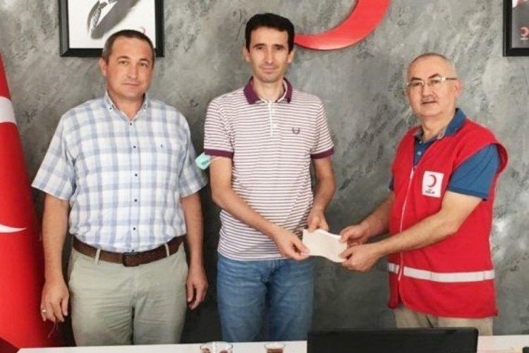 Bursa'da İHL öğretmenlerinden yangın bölgesine yardım