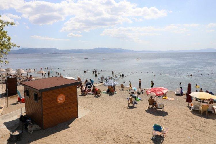 Bursa Gemlik'e engelsiz plaj