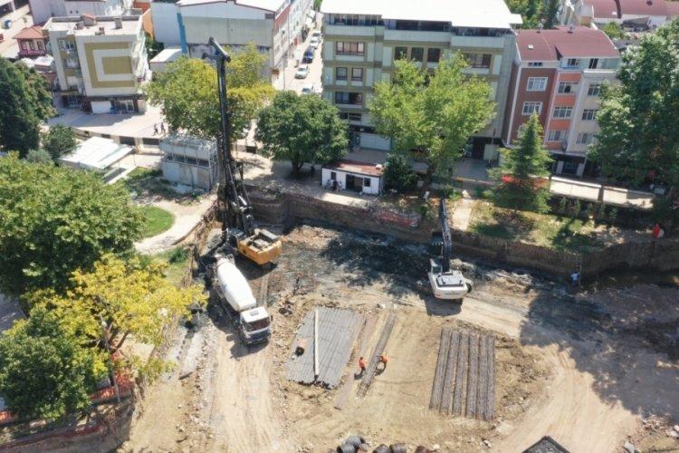 Bursa Kestel Belediyesi'nin vizyon projesine 650 fore kazık çakılıyor