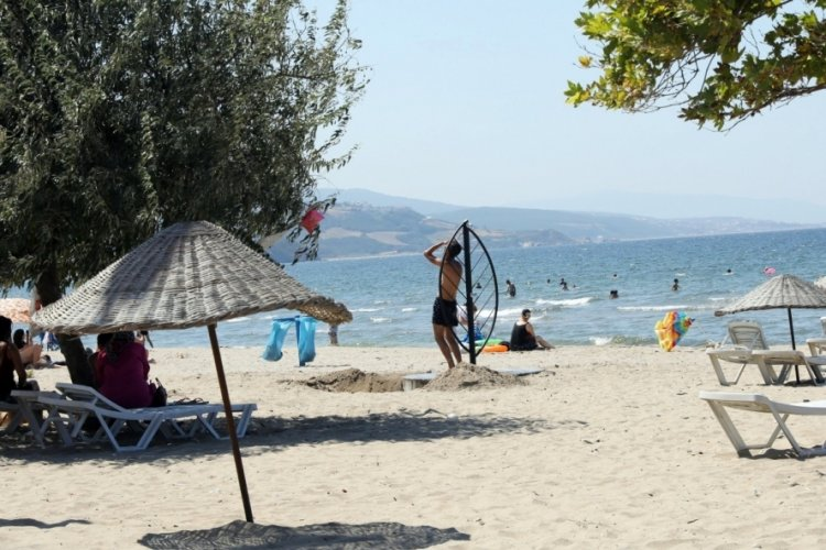 Bursa Mudanya sahilleri yeni görünümüne kavuşuyor