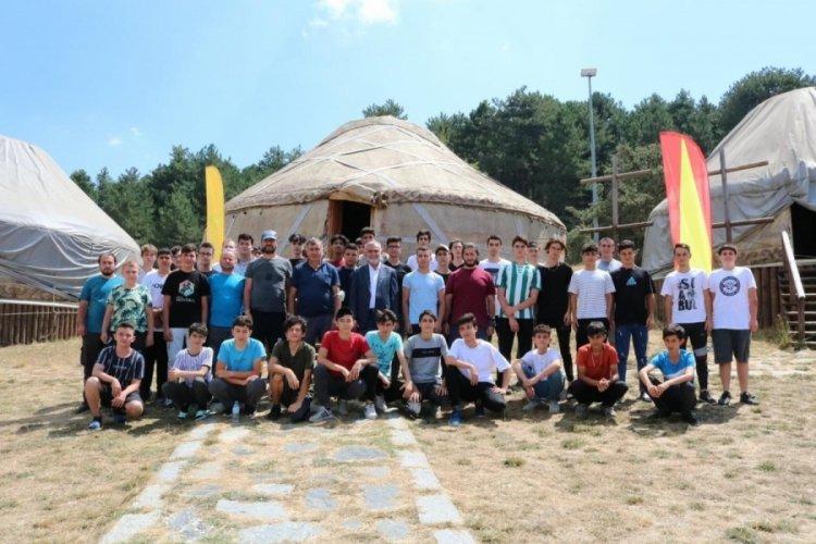 Bursa Kocayayla'da kamp keyfi başladı