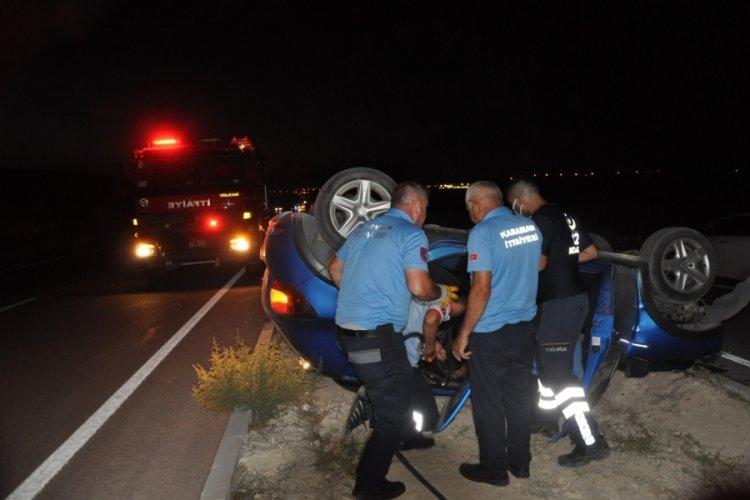 Köprüden uçan otomobilin sürücüsü yaşamını yitirdi