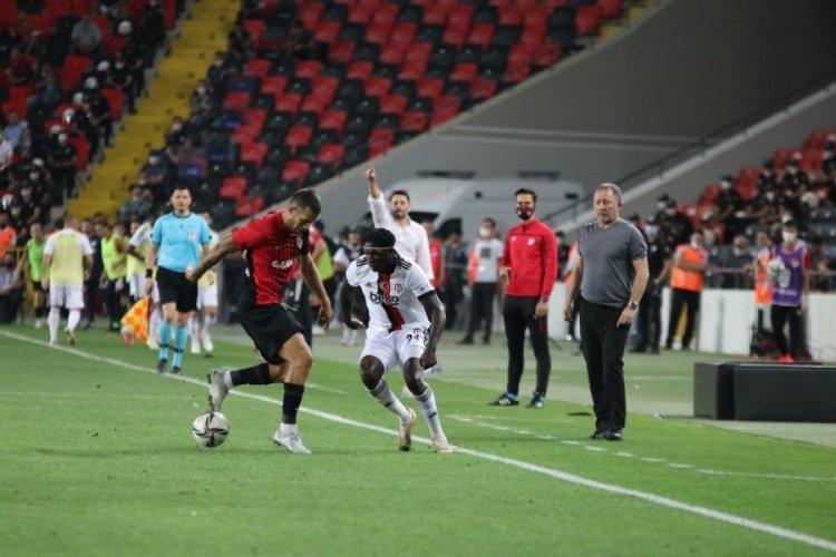 Beşiktaş - Gaziantep karşılaşmasında kazanan çıkmadı