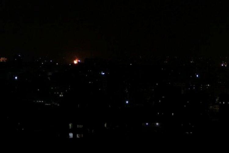 İsrail ordusu, Gazze'ye saldırdı!
