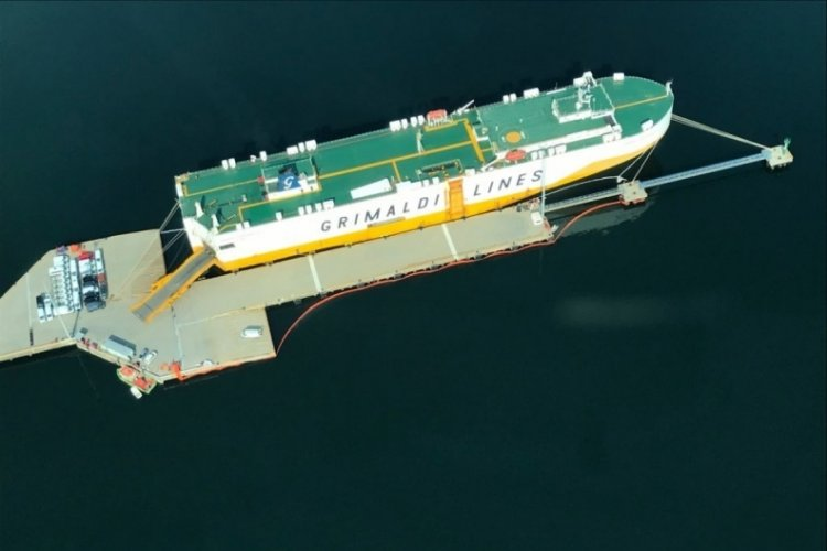 İzmit Körfezi'ni kirleten gemiye 3,4 milyon lira ceza verildi