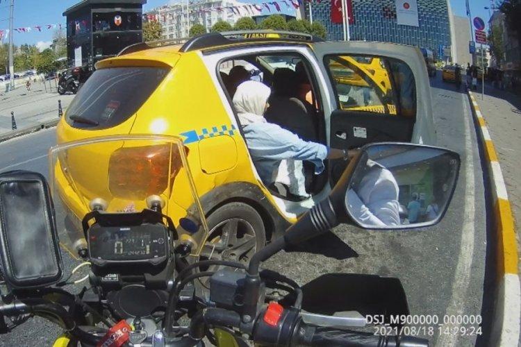 Taksim'de turistlerin taksici isyanı son bulmuyor