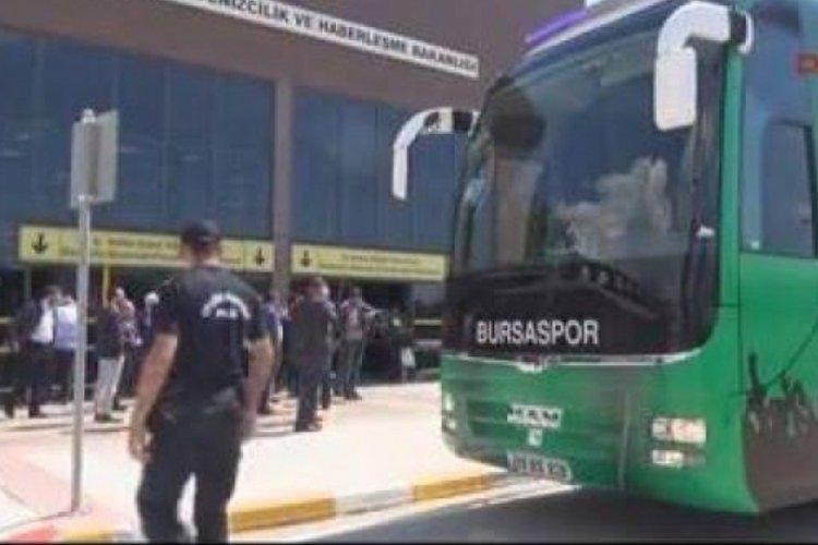 Bursaspor Erzurum'a uçuyor!