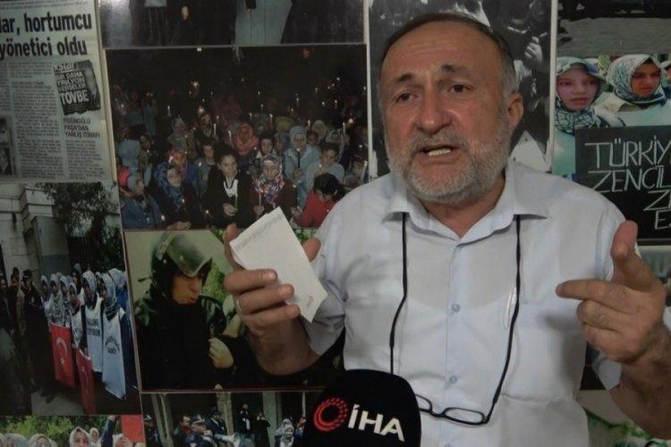 """Emekli Albay Arif Çelenk Bursa'da konuştu! """"Onlara verilen ceza az bile"""""""