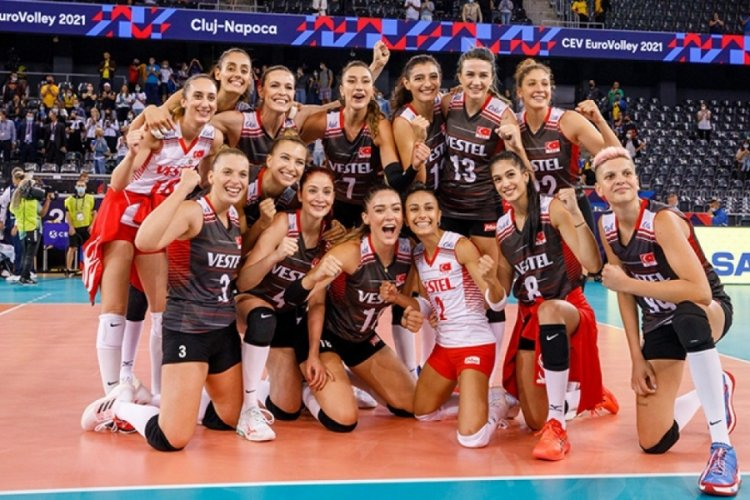 2021 CEV Avrupa Şampiyonası'nda A Milli Kadın Voleybol Takımı, İsveç ile karşılaşacak