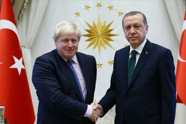 Erdoğan, Boris Johnson ile Kabil'i  görüştü
